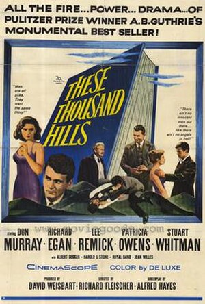 These Thousand Hills - Image: These thousand hills movie poster 1959 1020205013