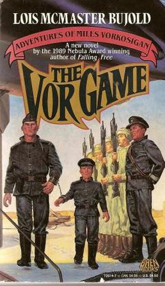 The Vor Game - The cover of the first edition
