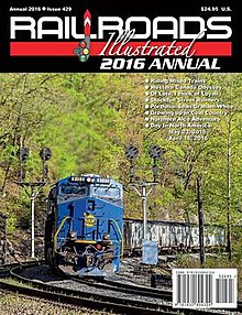 This is the cover of Railroads Illustrated Annual 2016 edition.jpg