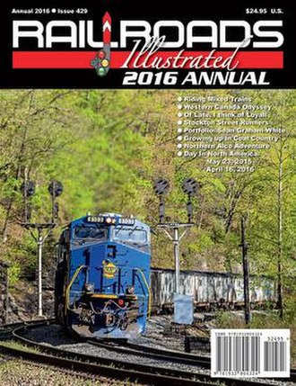 Railroads Illustrated - Image: This is the cover of Railroads Illustrated Annual 2016 edition