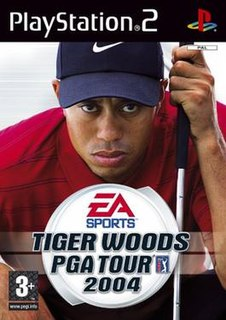 <i>Tiger Woods PGA Tour 2004</i> 2003 video game