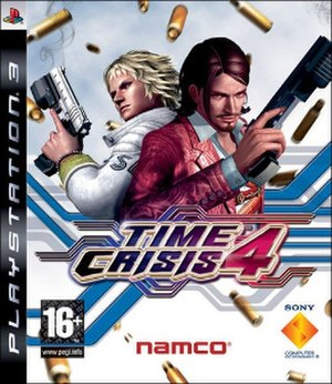 Time Crisis 4 - Image: Time Crisis 4 cover art