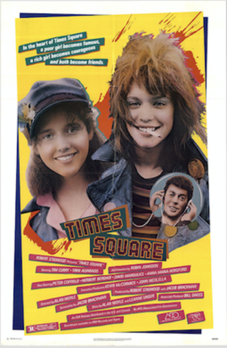 Times Square (film) - Times Square DVD cover