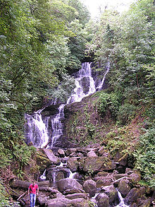 Torc Waterfall Kerry Ireland