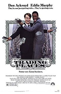 <i>Trading Places</i> 1983 comedy film directed by John Landis
