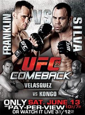 UFC 99 - Image: UFC99The Comeback