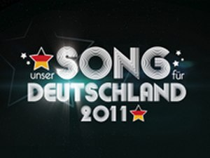 "Germany in the Eurovision Song Contest 2011 - Titlecard of ""Unser Song für Deutschland"""