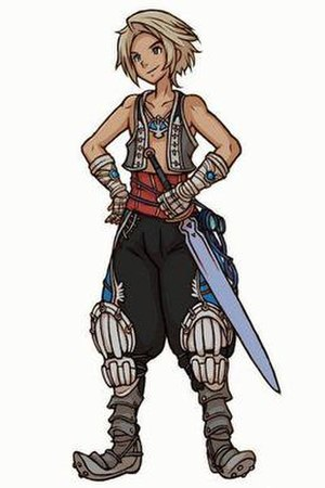 Final Fantasy XII: Revenant Wings - Ryoma Itō's design for Vaan