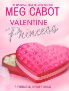 <i>The Princess Diaries, Volume VII and 3/4: Valentine Princess</i> book by Meg Cabot