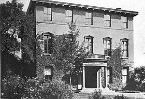 Peithessophian Society - In the nineteenth century, Van Nest Hall housed the meeting rooms and libraries of the college's two rival literary and debating societies.