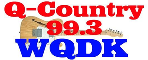WQDK - Former logo as Q Country 99.3