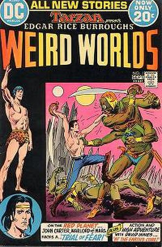 Weird Worlds (comics) - Image: Weird Worlds 1
