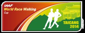 2014 IAAF World Race Walking Cup - Image: World Race Walking Cup 2014 logo