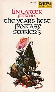 <i>The Years Best Fantasy Stories: 3</i> book by Lin Carter