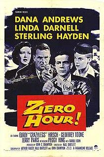 <i>Zero Hour!</i> 1957 American drama film directed by Hall Bartlett