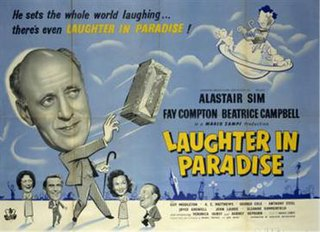 <i>Laughter in Paradise</i> 1951 British comedy film directed by Mario Zampi
