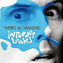 The cover of the extended play Internet Leaks, featuring Al Yankovic's face superimposed over a puddle of what appears to be water