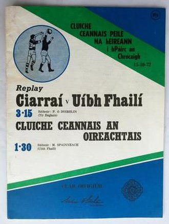 1972 All-Ireland Senior Football Championship Final - Image: 1972 All Ireland Football Final Replay