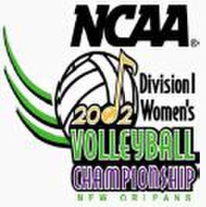 2002 NCAA Division I Women's Volleyball Tournament - 2002 NCAA Final Four logo