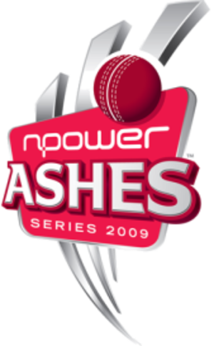 2009 Ashes series - The npower Ashes Series 2009 logo