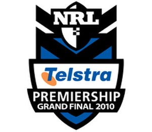 2010 NRL Grand Final - Image: 2010nrlgrandfinallog o
