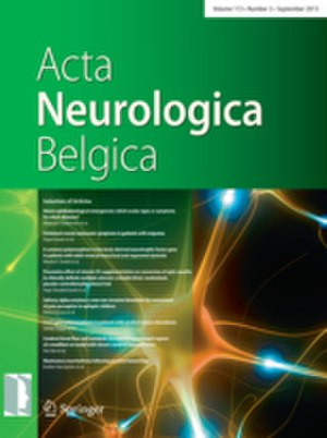 Acta Neurologica Belgica - Image: 2014 cover Acta Neurol Belg