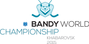 Arena Yerofey - Logo of the 2015 Bandy World Championship