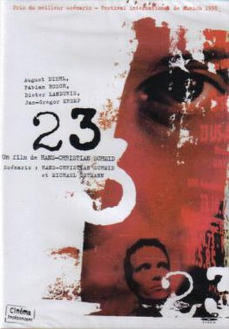 23 (film) - French DVD cover