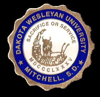 Dakota Wesleyan University - Image: 321px The Seal of Dakota Wesleyan University 1904 Present