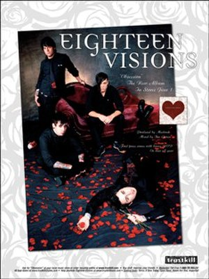 Eighteen Visions - Eighteen Visions poster as a four-piece band