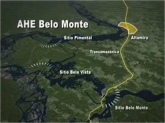 Belo Monte Dam - Overview of the dam complex