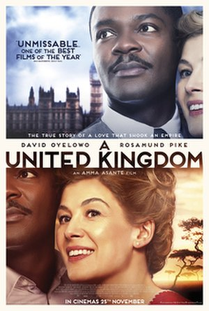 A United Kingdom - Theatrical release poster