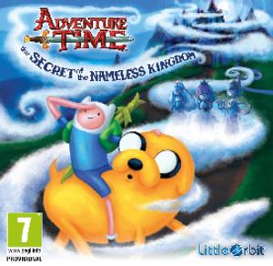 Adventure Time: The Secret of the Nameless Kingdom - PAL boxart
