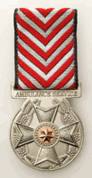 Ambulance Service Medal (Australia) - Image: Ambulance Service Medal (Australia)