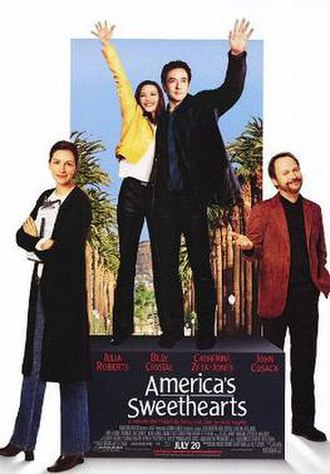 America's Sweethearts - Theatrical release poster