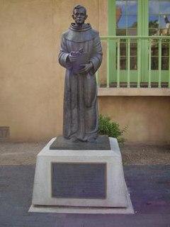 Angelico Chavez Hispanic American Friar minor, priest, historian, author, poet, and painter