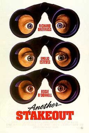 Another Stakeout - Theatrical release poster