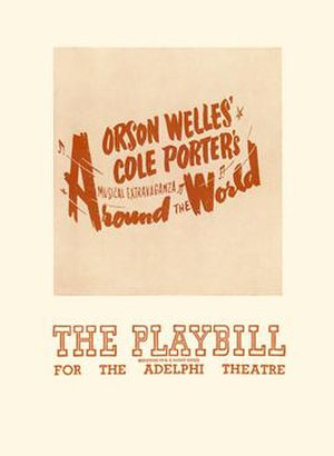 Around the World (musical) - The Playbill for the Adelphi Theatre (May 31, 1946)