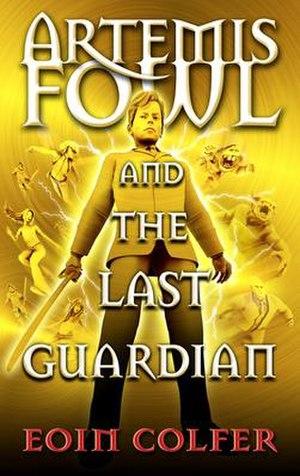 Artemis Fowl: The Last Guardian - UK cover