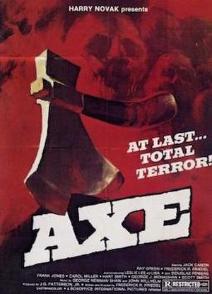 Axe (film) - Theatrical poster