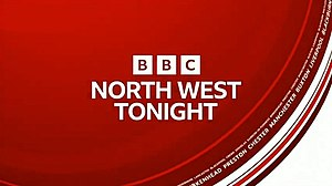 BBC North West Tonight - Image: BBC North West Tonight titles