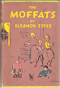 Cover of The Moffats by Eleanor Estes, illustrated by Louis Slobodkin