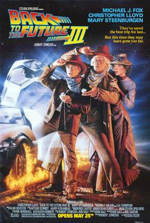 Back to the Future Part III - Theatrical release poster by Drew Struzan
