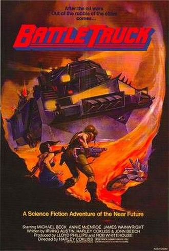 Battletruck - Official movie poster (New Zealand version)