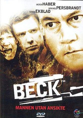Beck – Mannen utan ansikte - Swedish DVD-cover