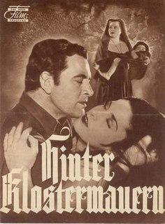 <i>Behind Monastery Walls</i> (1952 film) 1952 film