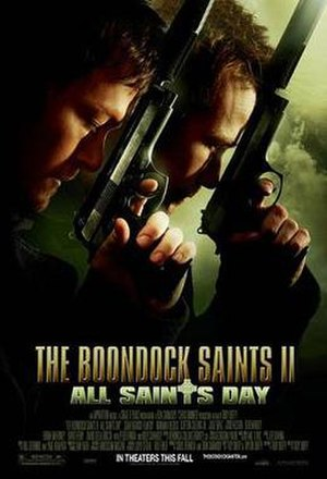 The Boondock Saints II: All Saints Day - Theatrical release poster