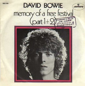 Memory of a Free Festival - Image: Bowiememory 2