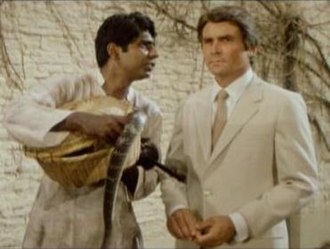 Octopussy - James Brolin's screen test as James Bond, with Vijay Amritraj