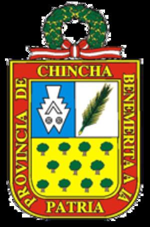 Chincha Province - Image: COA Chincha Province in Ica Region